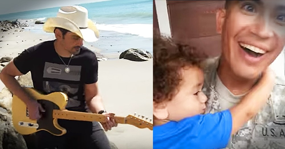 Country Singer Brad Paisley's Emotional Video 'Today' Has The Internet Crying