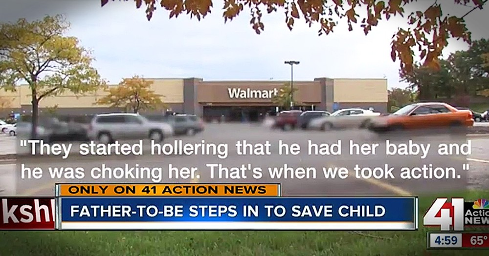 Wal-Mart Employee Stops Stranger From Choking Customer's 4-Month-Old Baby