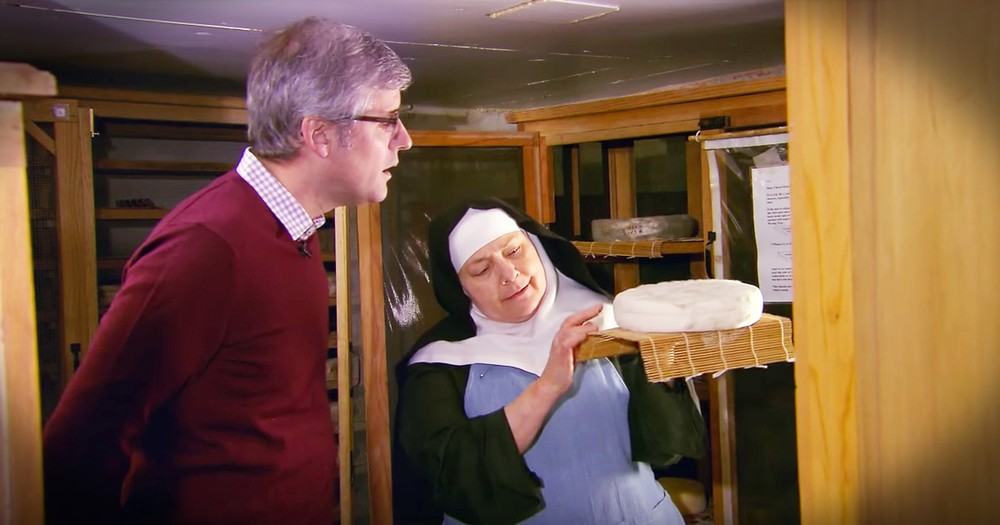 The 'Cheese Nun' Shares How She Sees God In Cheese