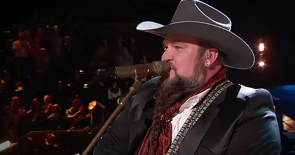 Talented Country Singer Performs 'Me And Jesus' On The Voice Stage
