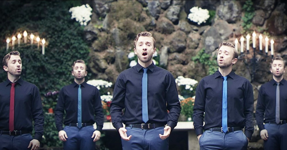 One Man's A Cappella 'O Come O Come Emmanuel' Is Stunning