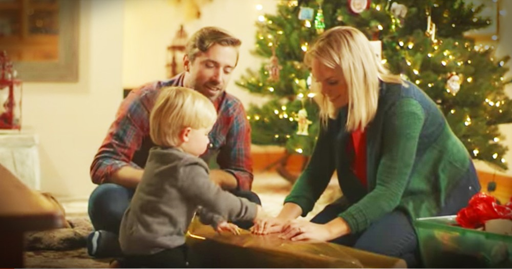 Peter and Evynne Hollens Sing 'Grown Up Christmas List' With A Little Help From Their Son