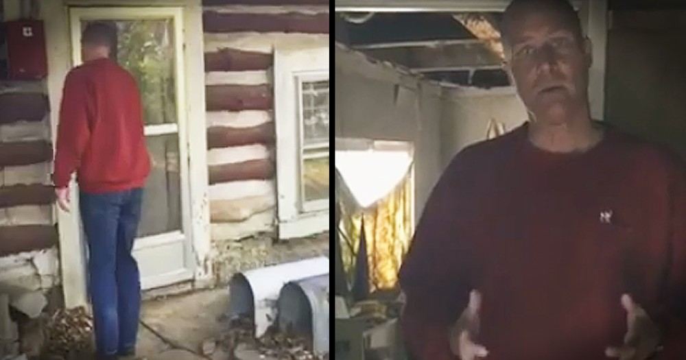 Pastor Shares Heartbreaking Look Inside Cabin of Man Who Died Alone
