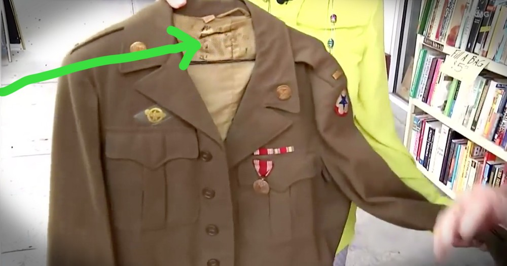 After 30 Years, Woman Notices The Wrong Name Written On Dad's WWII Jacket