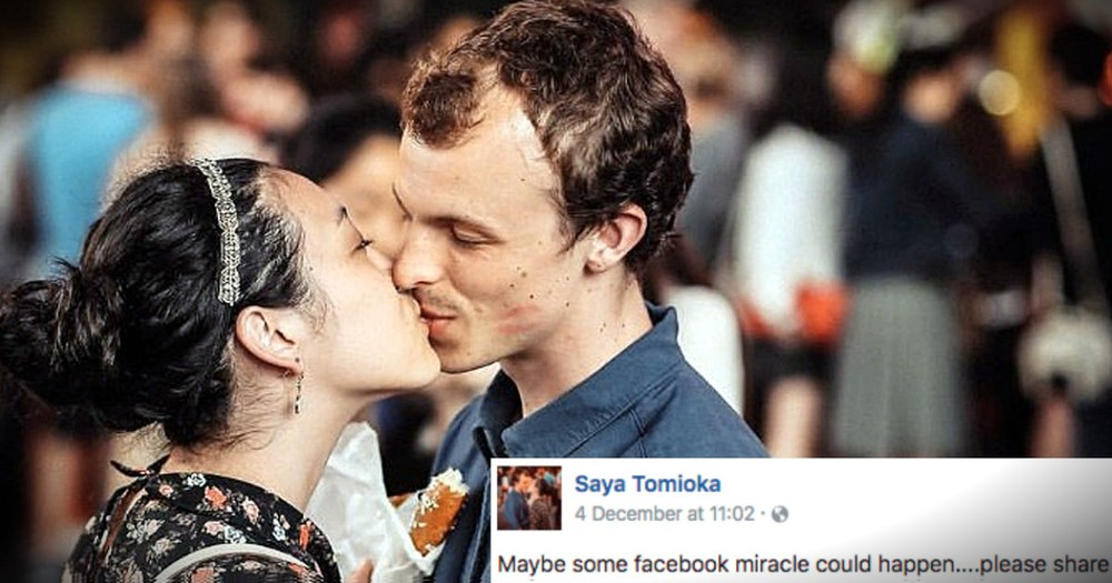 Woman Who Lost Her Boyfriend In A Fire Turns To Facebook For A Miracle