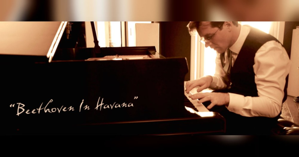 Pianist Uses Entire Piano To Put A Cuban Twist On Beethoven