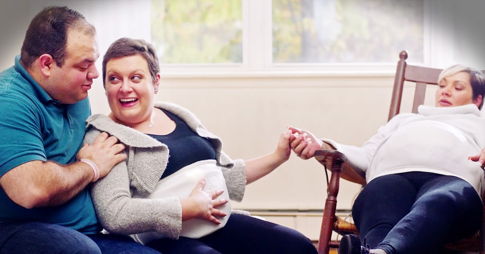 Cancer Survivor Gets To Feels Her Babies Kick For The First Time
