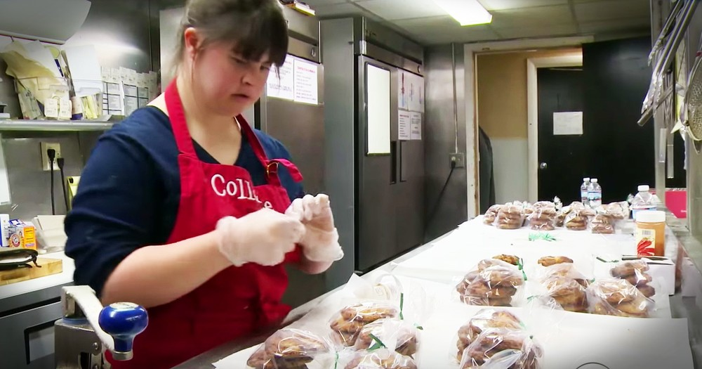 Young Woman With Down Syndrome Is Taking On The World One Cookie At A Time