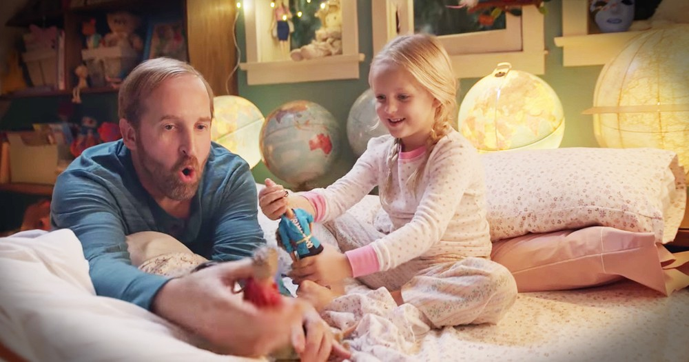Tough Dads Are Playing With Barbies For The Best Reason