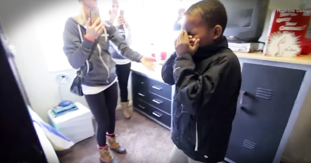 Homeless Family Surprised With A Home Of Their Own