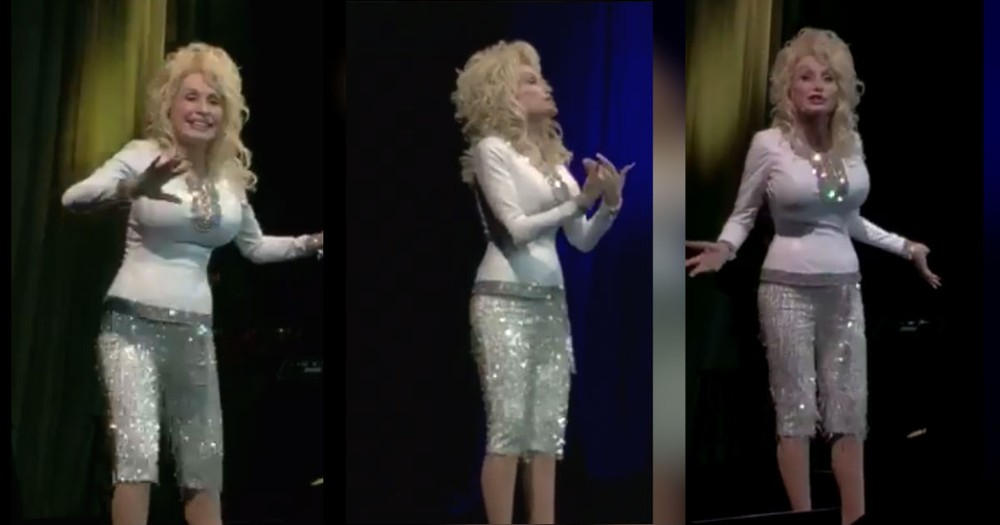 'Hello God' From Dolly Fan Dinner