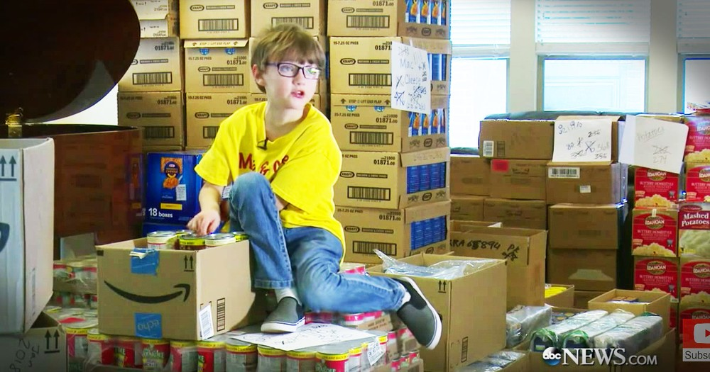 7-Year-Old Is Helping Hungry Kids In A Big Way