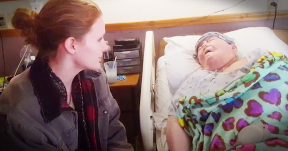 Young Caregiver Sings 'In The Garden' During Her Dying Patient's Final Moments