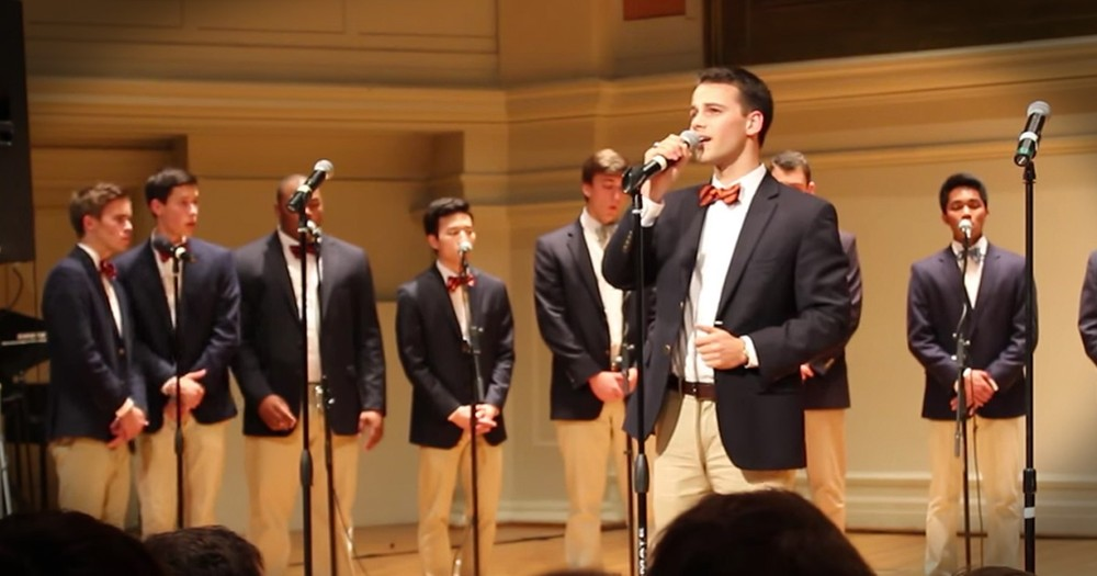 A Cappella Gentlemen Sing An Incredible Version Of 'Amazing Grace'