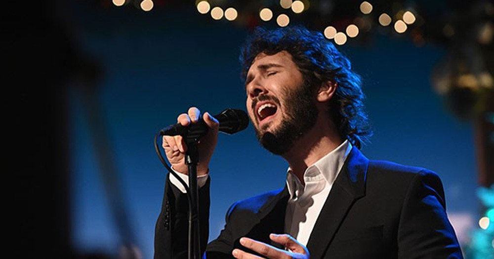 Josh Groban Walked Out Of A TV Interview To Stay True To His Faith