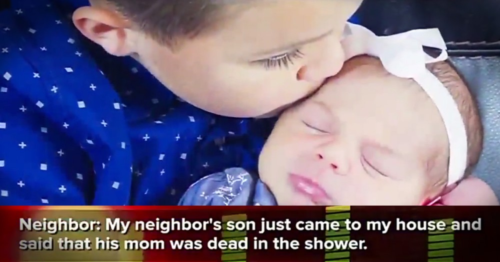 Heroic 5-Year-Old Saves Baby Sister After Thinking His Mom Died