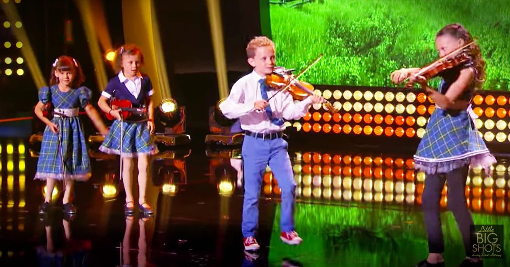 This Tiny Irish Dancing Celtic Band Is A Foot-Stompin' Good Time