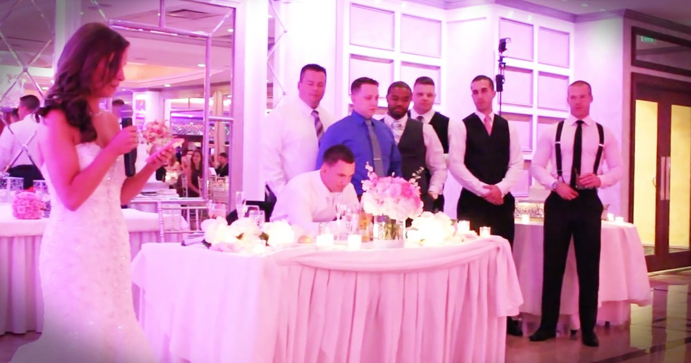 Bride's Toast Turns Into A Powerful Testament To The Bravery Of Police