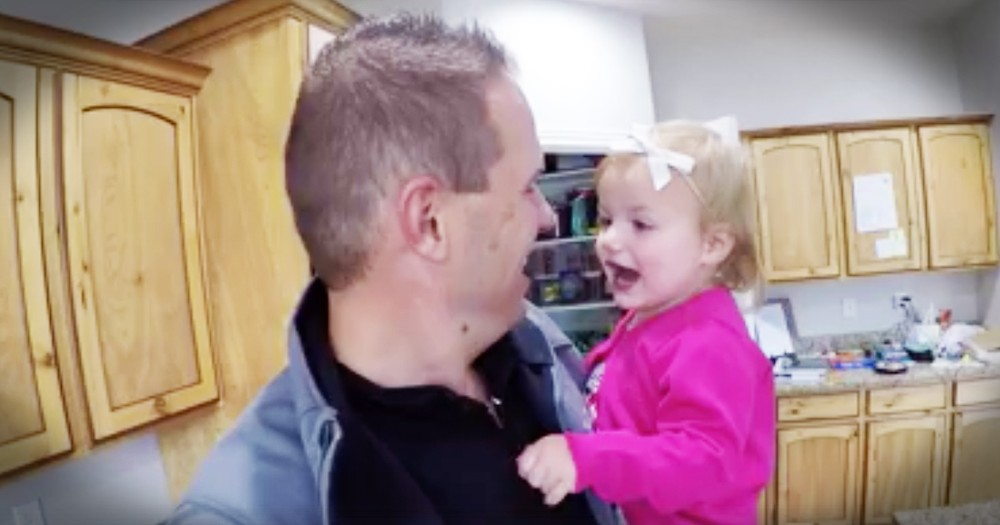 Silly Montage Of Toddler Interrupting Her Parents