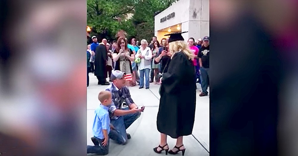 Graduate Gets New Car And Proposal On Same Day