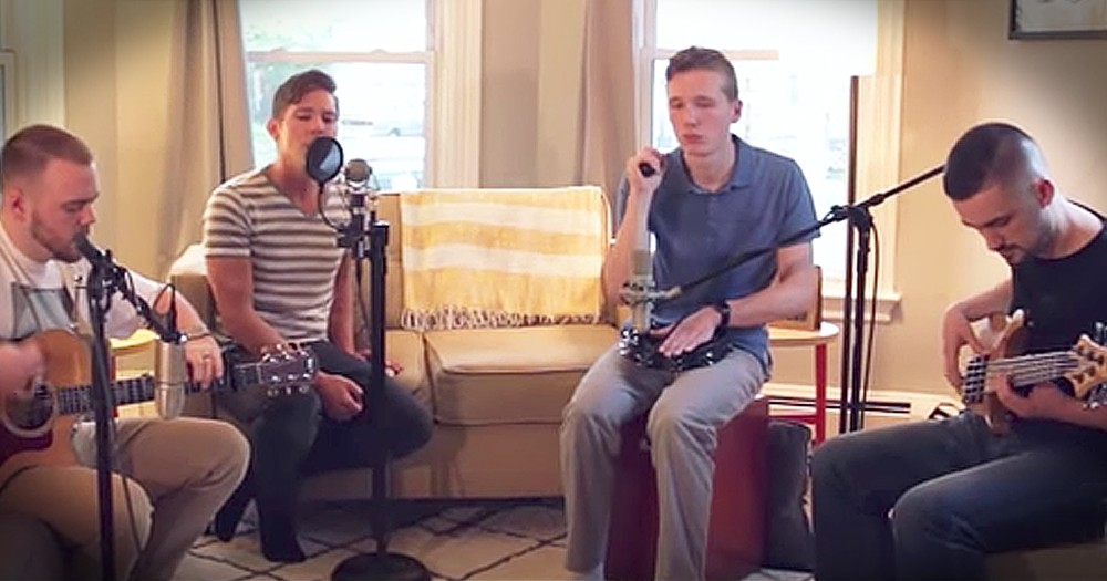 Rise And Run Perform Acoustic Cover Of Mercy Me's 'Even If'