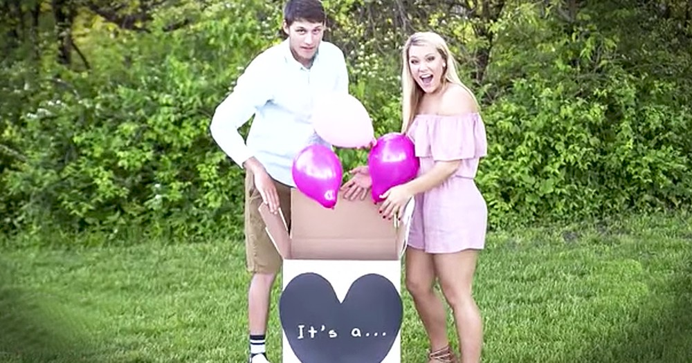 Gender Reveal Photoshoot Has Adorable And Hilarious Twist At The End