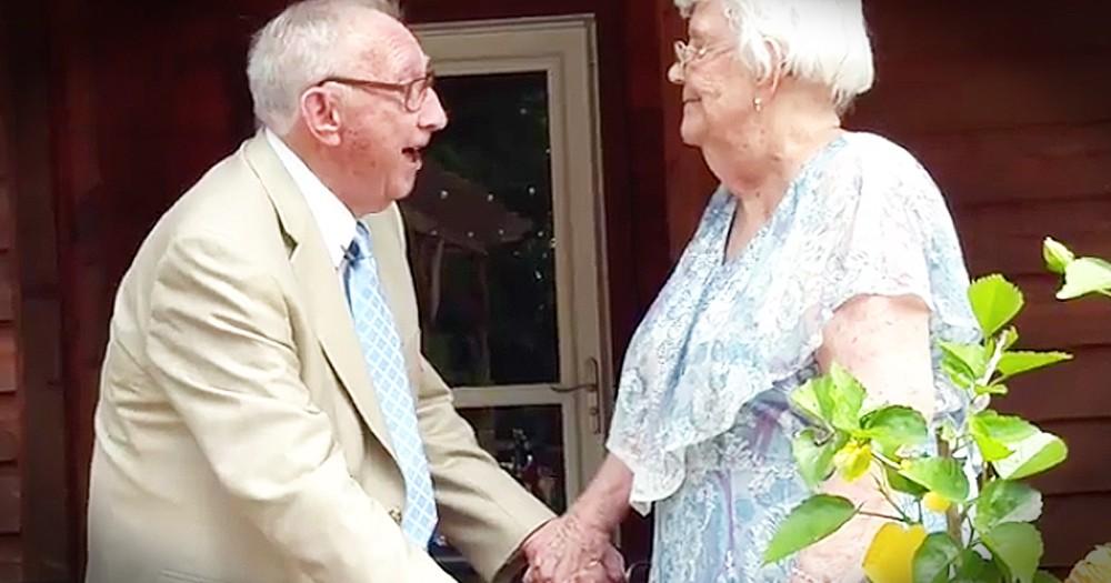 Sweet Man Serenades Wife Of 70 Years