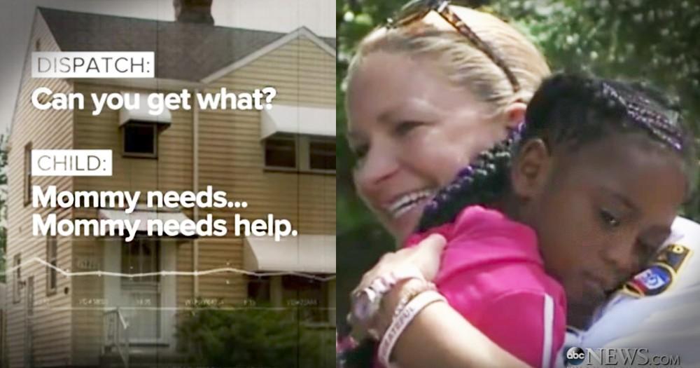 Brave Little Girl Calls 911 Saving Her Mom's Life