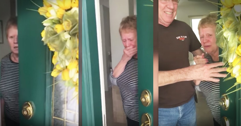 Grandma Slams Door In Daughter's Face After Unexpected Visit