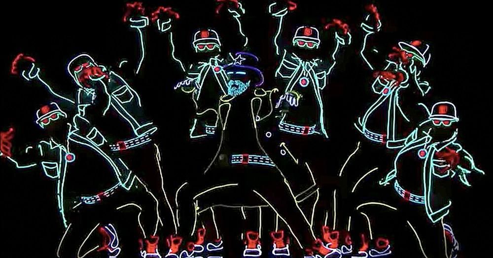 Light Up Dancers' Audition Gets The Golden Buzzer