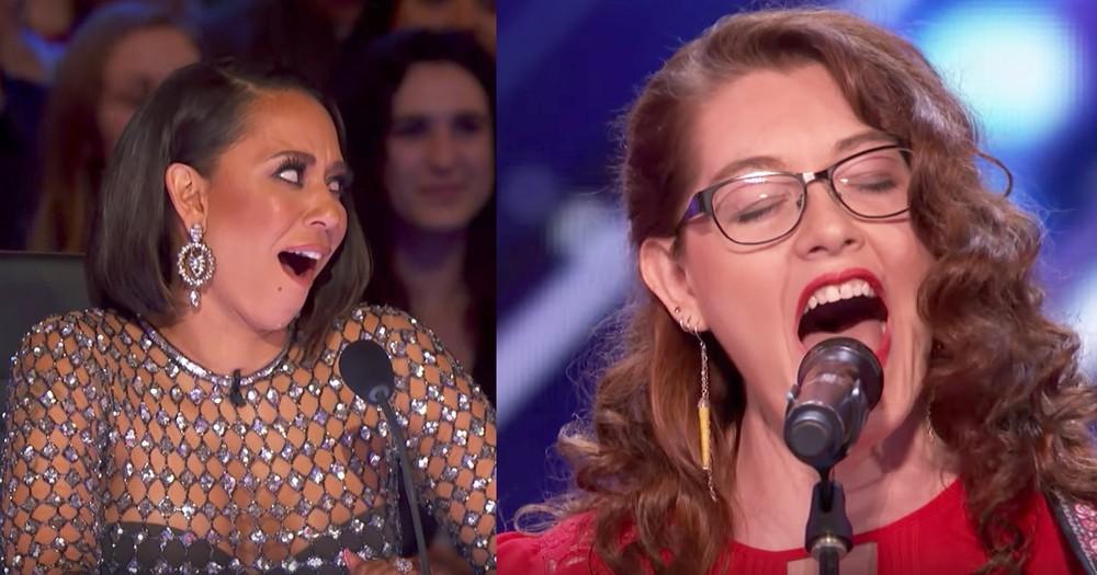 Deaf Singer's Original Song Gets The Judges On Their Feet