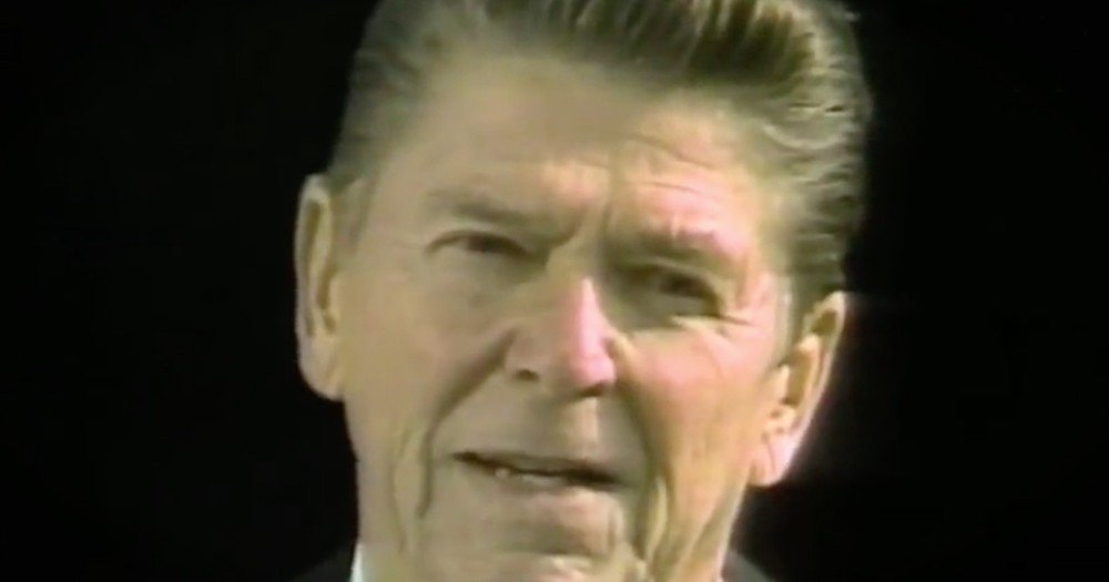 President Reagan 'One Nation Under God' Speech For July 4th