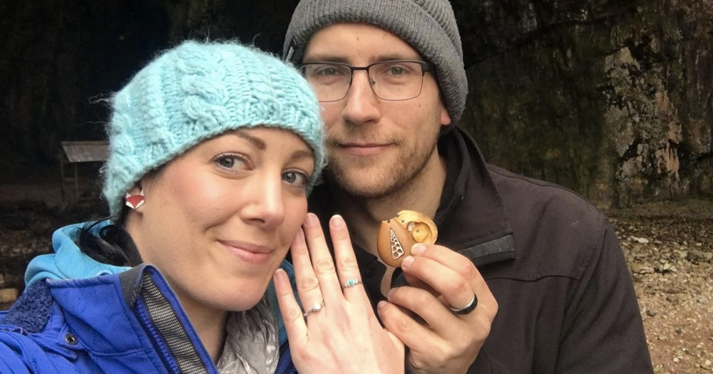 Man Proposes With A Ring His Girlfriend Has Been Wearing All Year