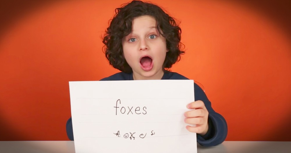 Kids Adorably Attempt To Write In Cursive