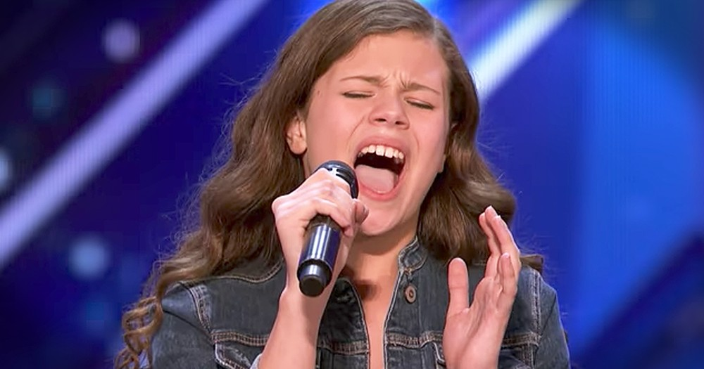 13-Year-Old Singing 'I'll Stand By You' Gets The Golden Buzzer