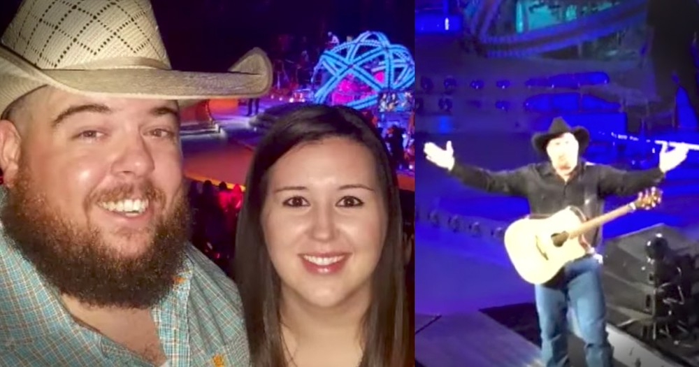 Garth Brooks Gives Engaged Fans A Big Gift