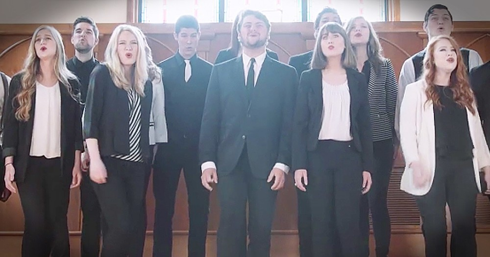 A Cappella Rendition Of 'What A Beautiful Name' Is Anointed