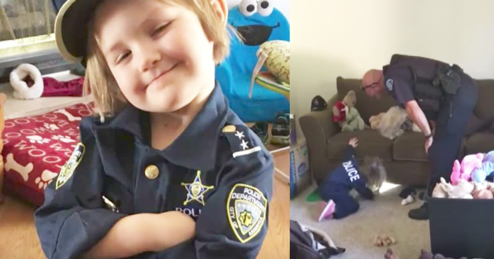 4-Year-Old Girl Calls Police For The Cutest Reason