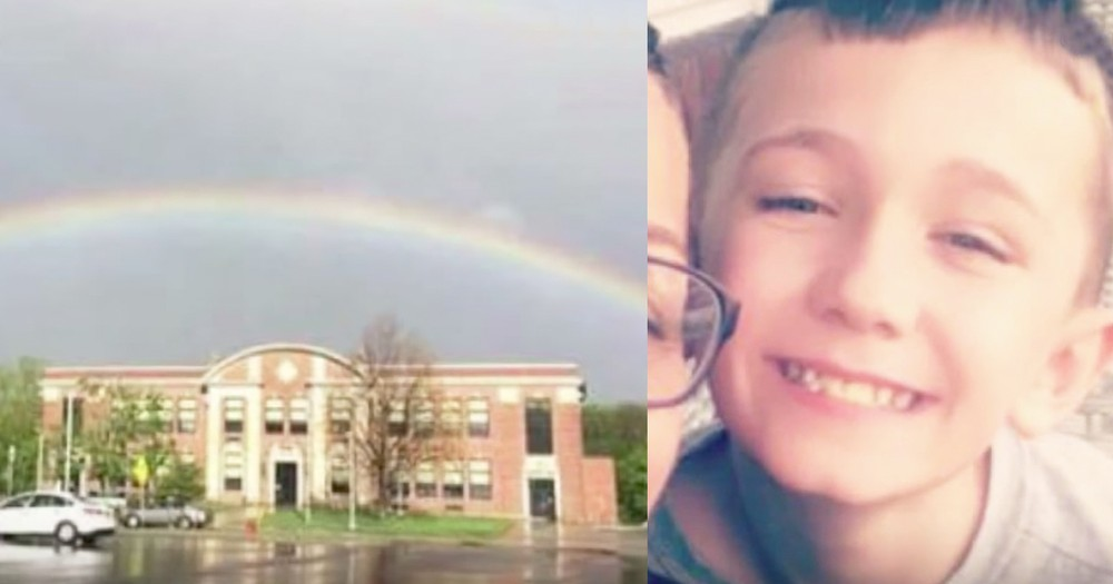 Boy Receives Thousands Of Symbolic Rainbow Photos After Losing Parents