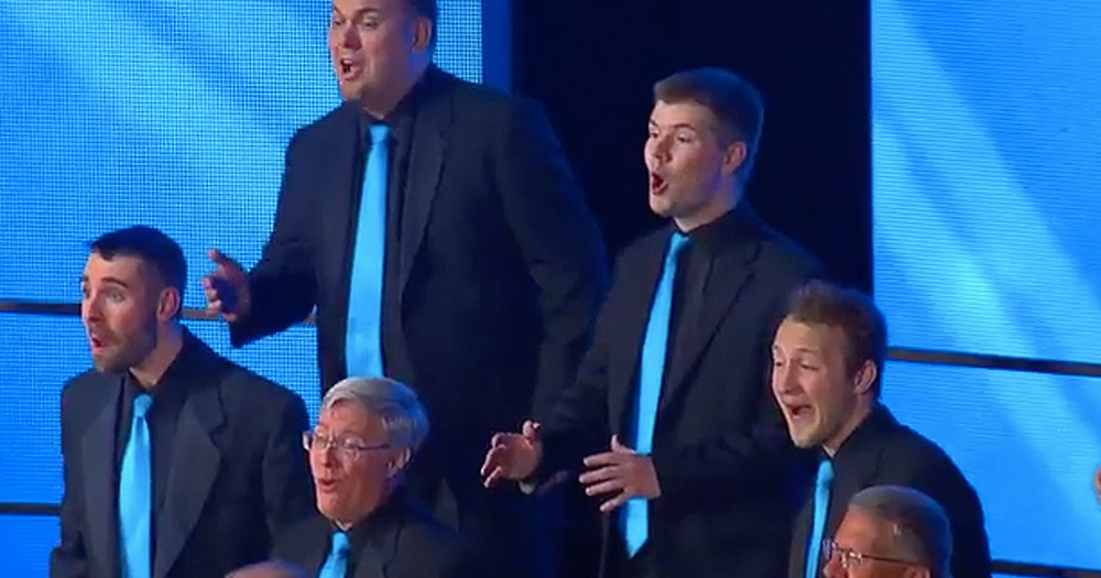 Barbershop Harmony Group's Beautiful Rendition Of 'A Whole New World'