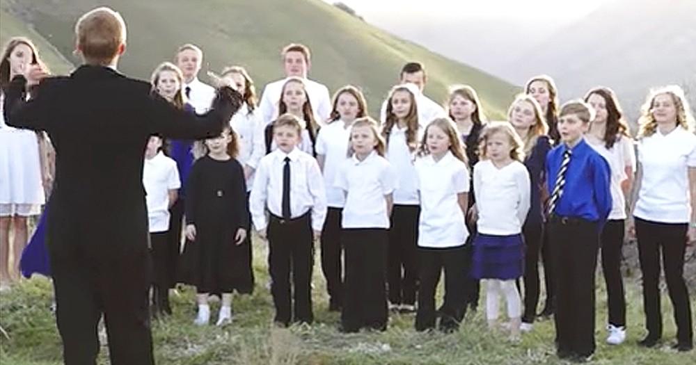 Children's Choir Performs Breathtaking Christian Version Of 'Hallelujah'