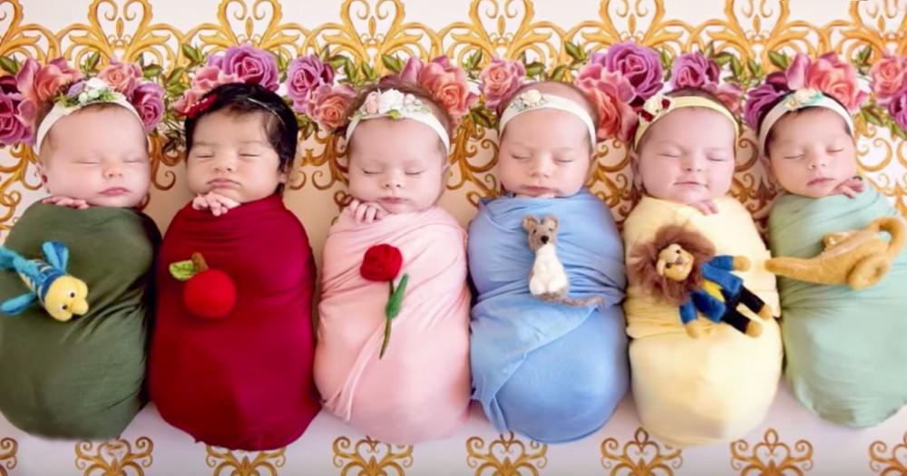Newborns Magically Transformed Into Disney Princesses By Photographer