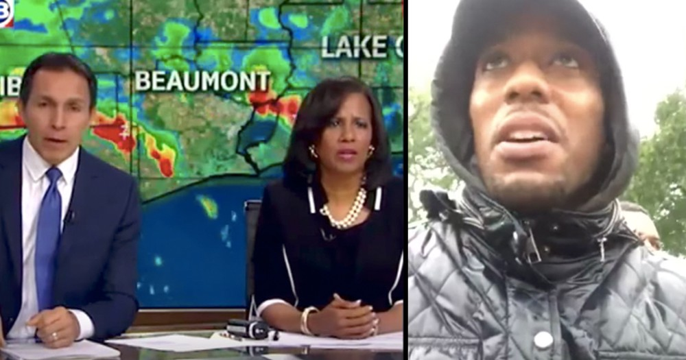 News Anchor Stops Live Broadcast To Deliver Baby During Hurricane