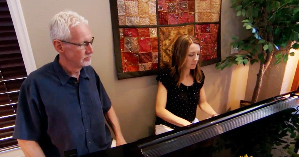 Kind Woman Helps Man With Alzheimer's Recompose Forgotten Songs