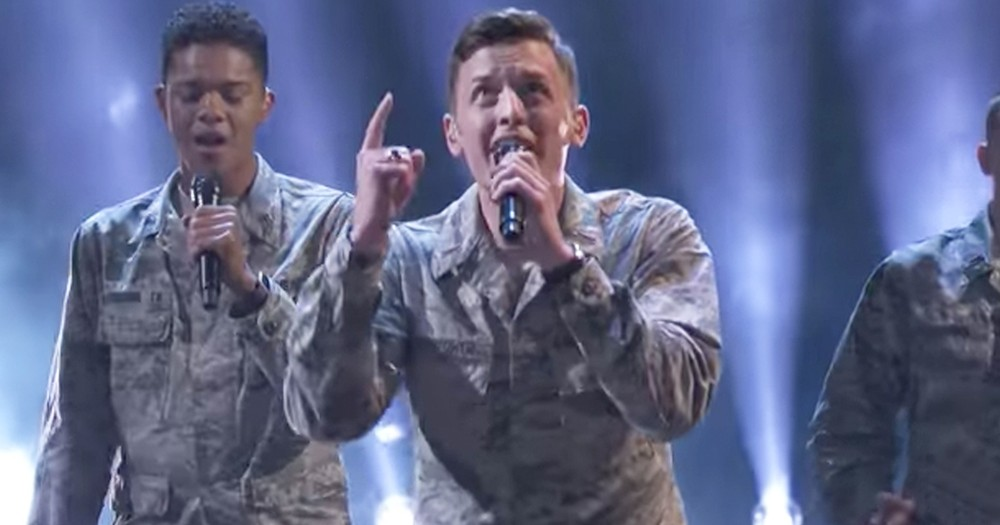 Talented A Cappella Air Force Academy Choir Wows Crowd