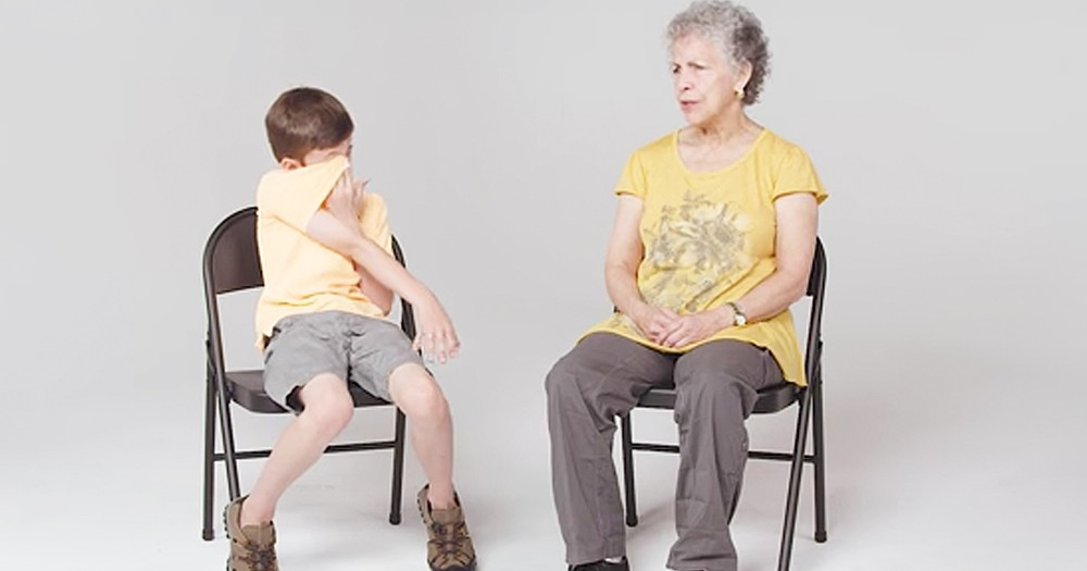 Kids Caring Reactions To Meeting A Woman With Alzheimer's