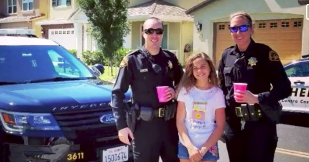 Man Bullies Sweet Girl Running A Lemonade Stand
