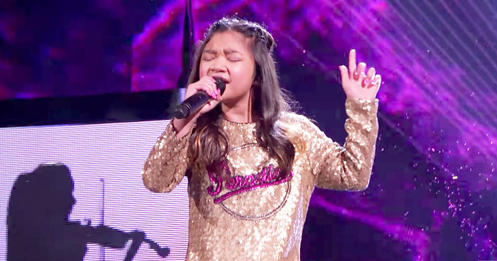 10-Year-Old Girl Performs Breathtaking Version Of 'Symphony'