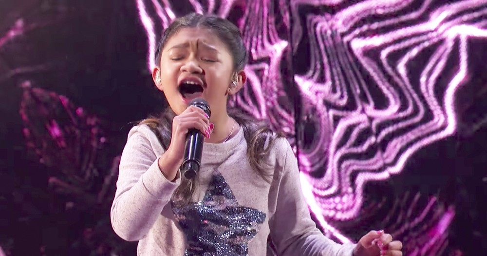 Talented 10-Year-Old's Performance Of 'Without You' Earns Standing Ovation