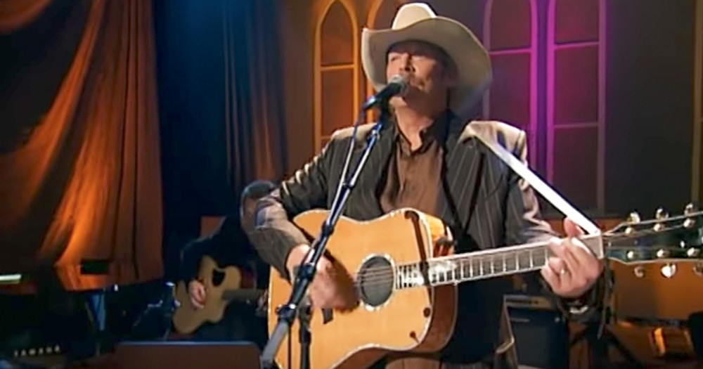 Alan Jackson Sings Incredible Version Of 'Standing On The Promises Of God'